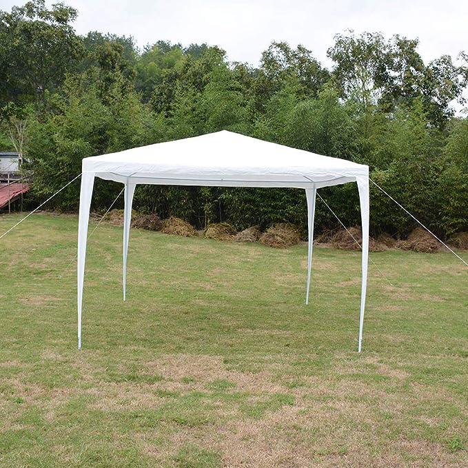 Zoternen Tienda Gazebo para Fiesta Cenadore Carpa de Oxford de Jardín Impermeable con Tubo de Acero Premium 3 x 3M: Amazon.es: Jardín