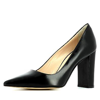 Femme Escarpins Lisse Natalia Evita Shoes Cuir 1Tzffw