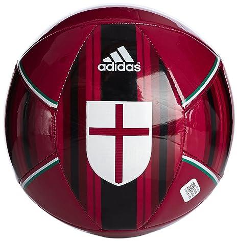 adidas Balón de Fútbol AC Milan Size 5 Rojo: Amazon.es: Deportes y ...