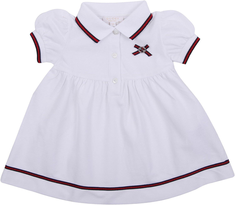 Gucci 256664-9098 - Vestido Polo para niña, Color Blanco Blanco ...