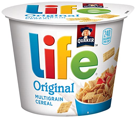 Life Original Multigrain Breakfast Cereal, 12 Individual Cups