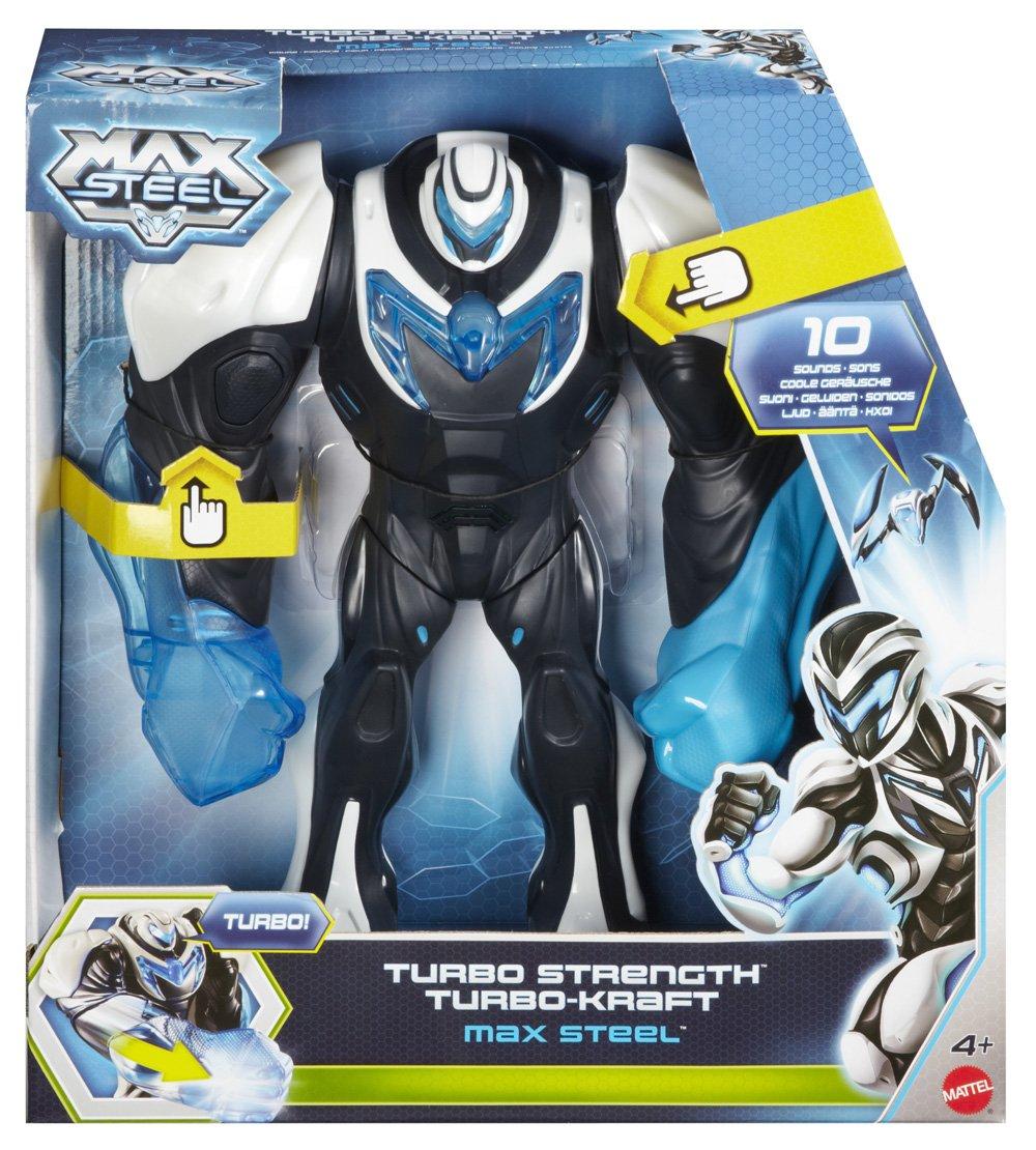 amazon com mattel max steel turbo strength toys games