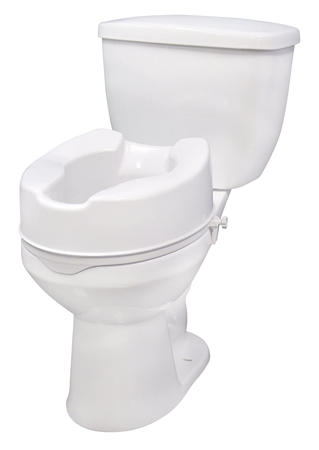 Amazon.com: Drive Medical Raised Toilet Seat with Lock, Standard ...