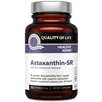 Powerful Antioxidant Supplement – Quality of Life - Astaxanthin Sustained Release – Enhanced Absorption for Bioavailability – Cognitive, Cardiovascular and Anti Aging Support