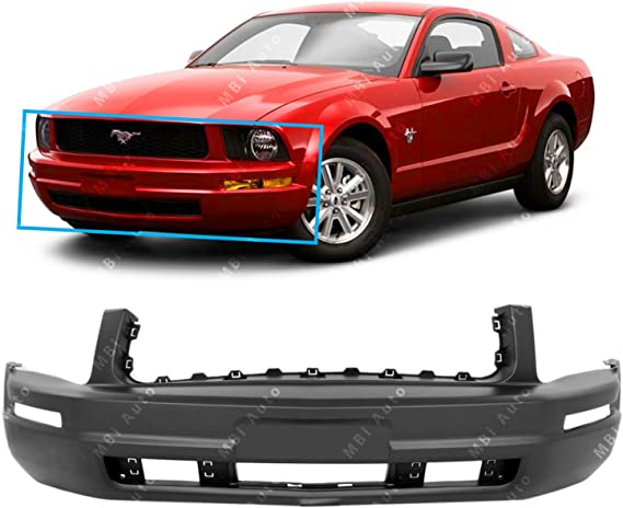 Front, RH Side New Bumper Bracket for Ford Mustang FO1027110 2005 to 2009