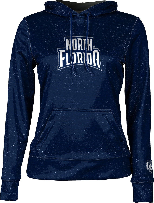 School Spirit Sweatshirt Heathered University of North Florida Girls Pullover Hoodie