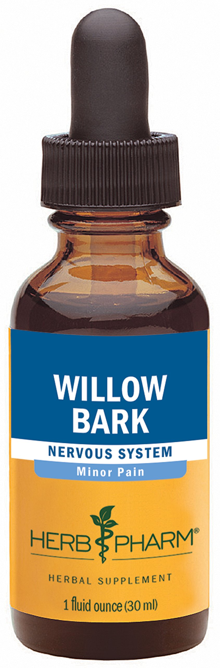 Herb Pharm Willow Bark Extract for Minor Pain - 1 Ounce