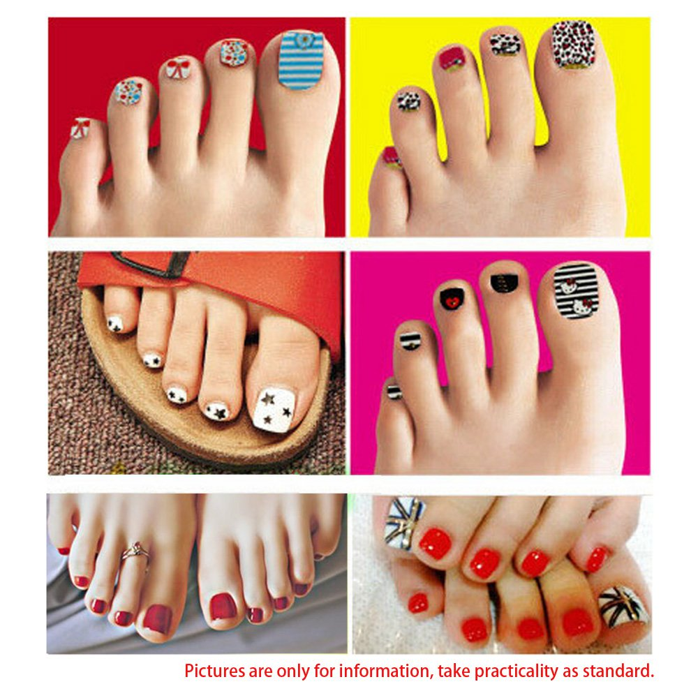 Amazon Anself Pvc Mannequin Foot Nail Art Foot Practice Model