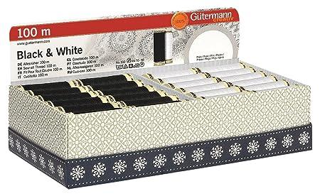 Gutermann 7 X 100 M 100 Percent Polyester Sew-All Thread Set