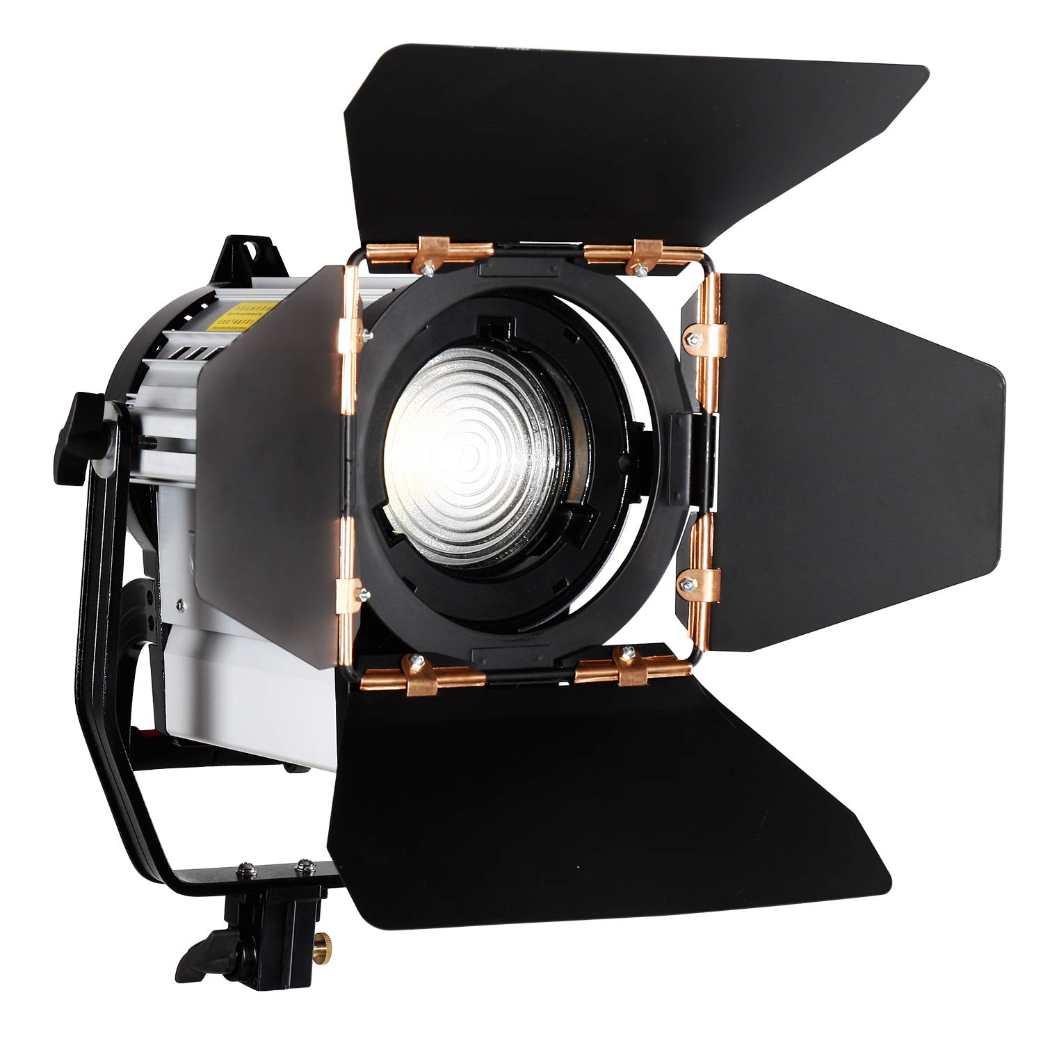 ASHANKS led Fresnel Spotlight, 150W Dimmable Studio Fresnel Light 3200-5500K with Wireless Remote Control for Camera Photo and Studio Video