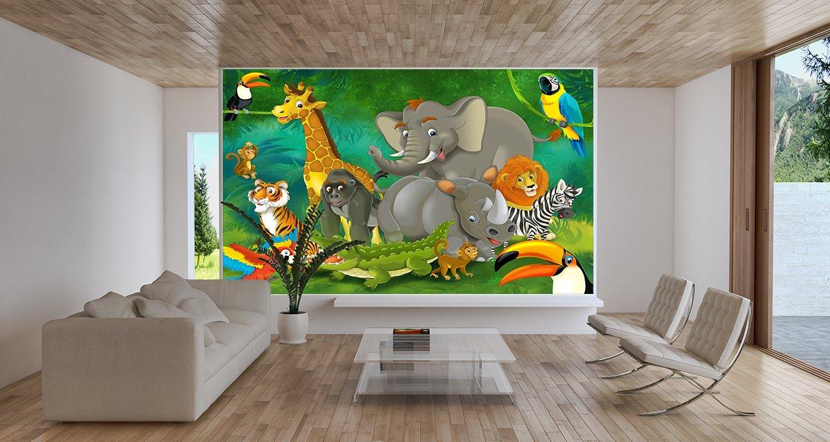 Fototapete Kinderzimmer Dschungel
