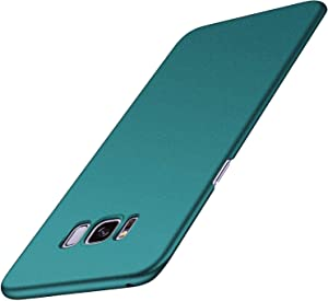 Arkour Galaxy S8 Plus Case, Minimalist Ultra Thin Slim Fit Non-Slip Matte Surface Hard PC Cover for Samsung Galaxy S8+ (Gravel Green)