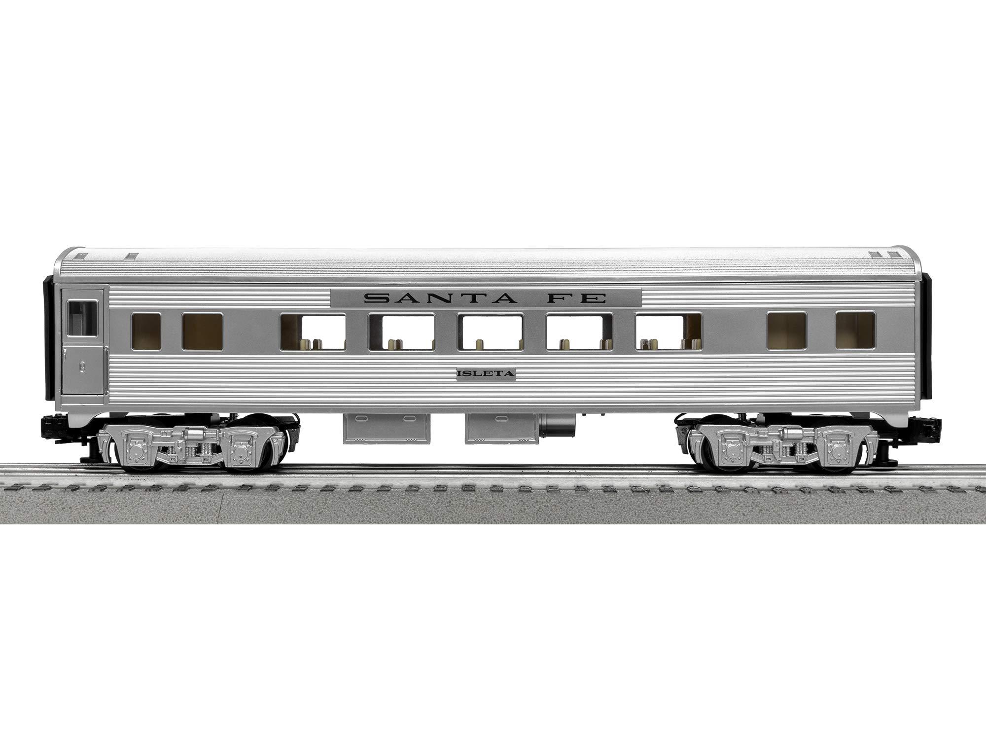 Lionel Santa Fe Super Chief Electric O Gauge Model Train Set w/ Remote and Bluetooth Capability by Lionel (Image #8)