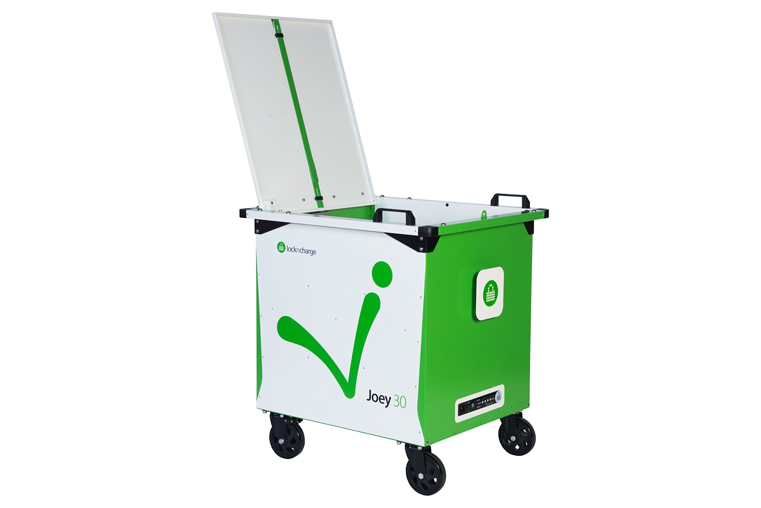 LocknCharge 10148 Joey 30 Cart, Green/White by LocknCharge