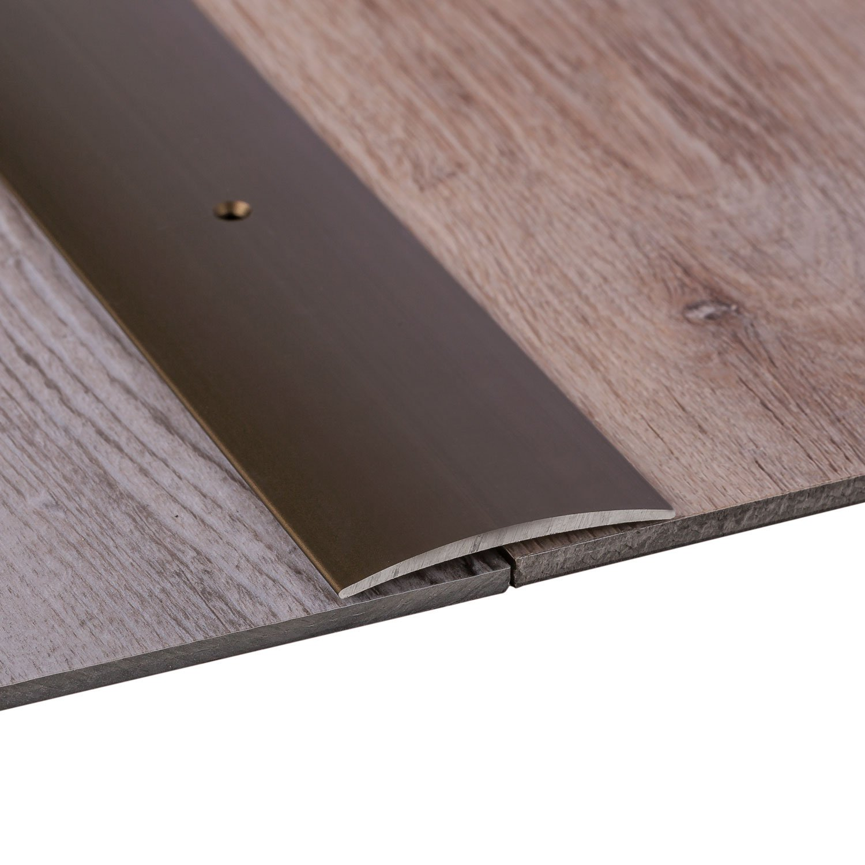 Made in Germany 40 x 1000 mm 50 mm 100 cm o de 200 cm De ancho de 30-40 aluminio plateado anodizado 3 coloures Perfil de grueso GedoTec a trav/és de agujeros aluminio anodizado a trav/és de velocidades de riel de perfil del suelo