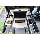 STYLEZONE Treadmill Laptop Computer Desk Setup Acrylic Laptop Computer iPad MacBook Book Holder and Stand on Treadmill…