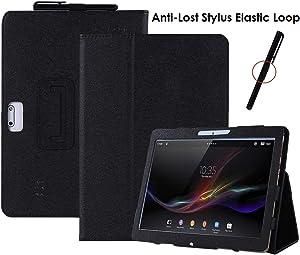 DETUOSI Tablet Case 10.1 inch Compatible with Dragon Notepad K10 10.1, Hoozo 10.1, Winsing 10.1, Veidoo 10.1, Plum Optimax 10.1,MRMAODOU 10.1,BeyondTab 10.1,Yuntab K107,BENEVE 10.1, BEISTA 10.1#Black