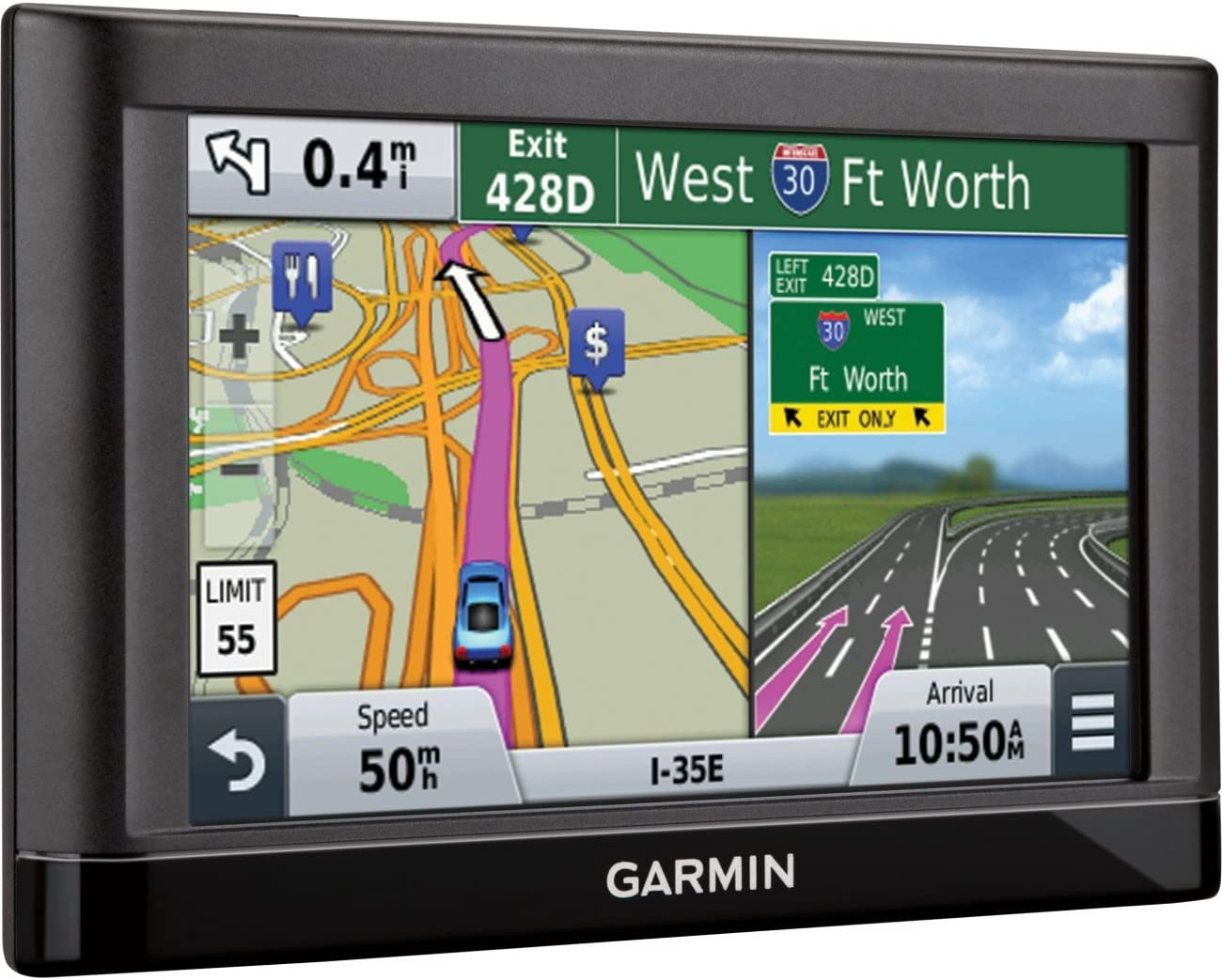 Garmin 5.0 In. GPS Navigator with U.S. Coverage with Lifetime Maps