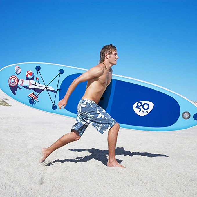 COSTWAY Tablas de Surf Inflable Paddle Board Hinchables Remo Tablero Sup Board Stand Up Board Set 305 x 76 x 15cm Azul: Amazon.es: Deportes y aire libre