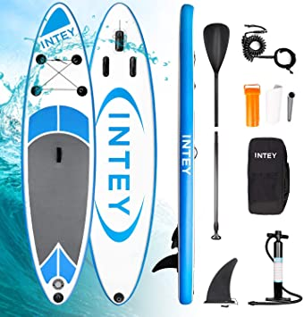 INTEY Tabla Paddle Surf Hinchable, Sup Paddle Remo Ajustable ...