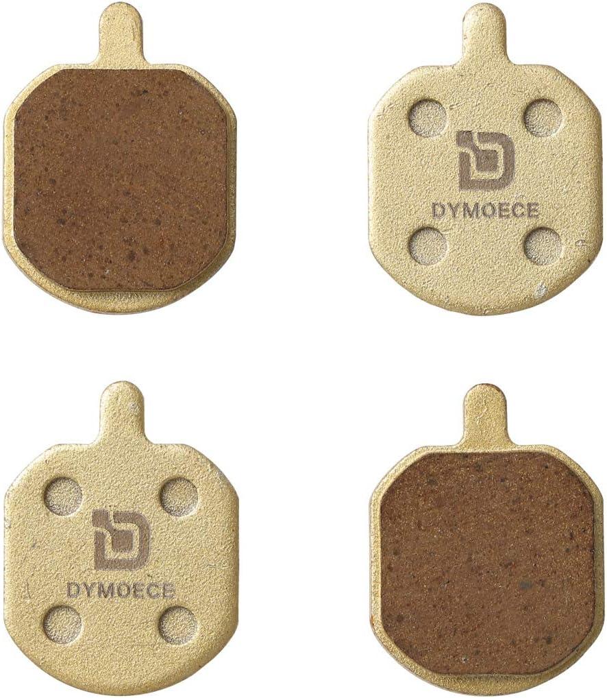 Organic Resin,Semi-Metallic,Sintered Metal Dymoece 2 Pairs Bicycle Disc Brake Pads for Hayes Sole MX2 MX3 MX4 MX5 CX5 SCP-MX