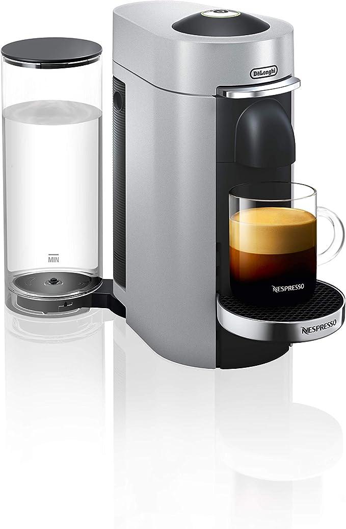DeLonghi ENV 155.S Nespresso Vertuo, 1260 W, 1.7 litros, plástico, Negro, Plata: Amazon.es: Hogar