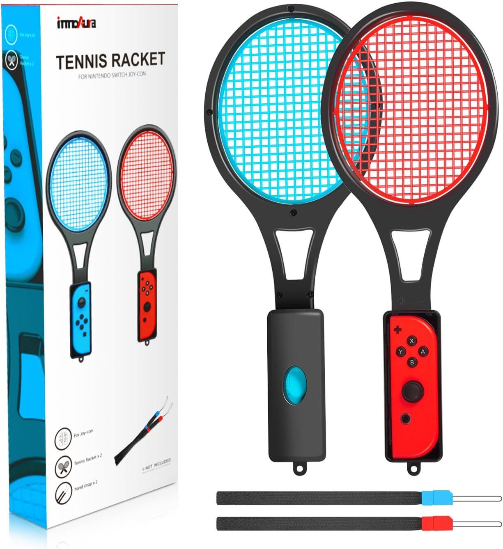 innoAura Raqueta de Tenis para Nintendo Switch Raqueta de Tenis ...