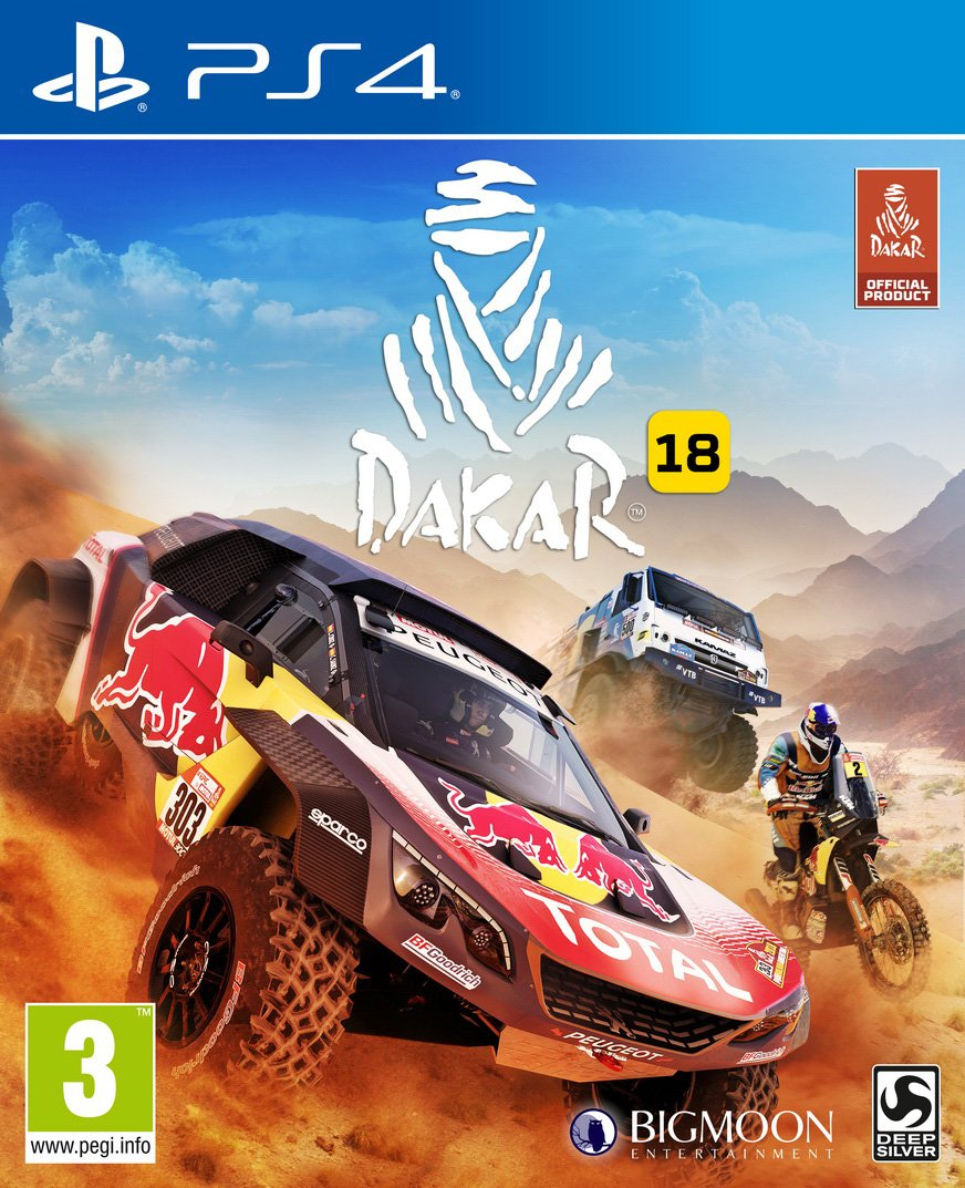 Dakar 18 - PC Deep Silver carrera coche