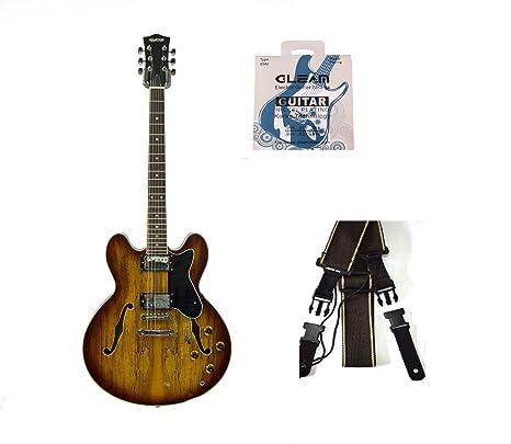 De la forma de Vancouver 335 Semi hueco de la guitarra eléctrica por QUINCY (6