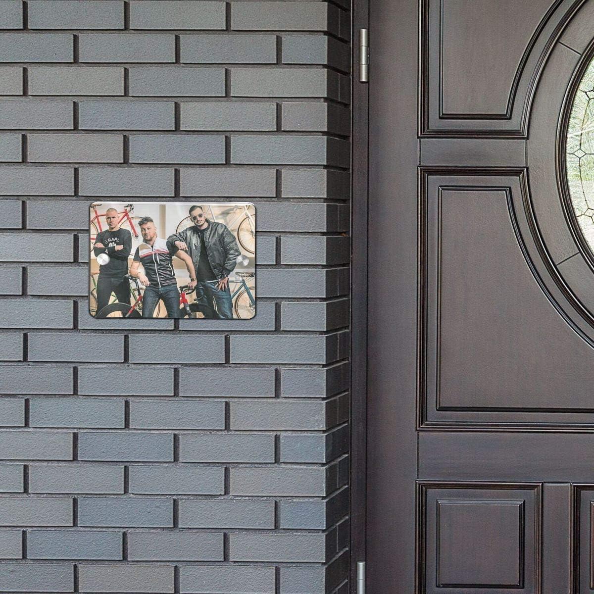 PSH Na Sv/Ãm Debutu Rozesm/ívaj/í Imbeciln/ím Humorem Door Sign 5.57.5 in Welcome Sign for Front Door One Size