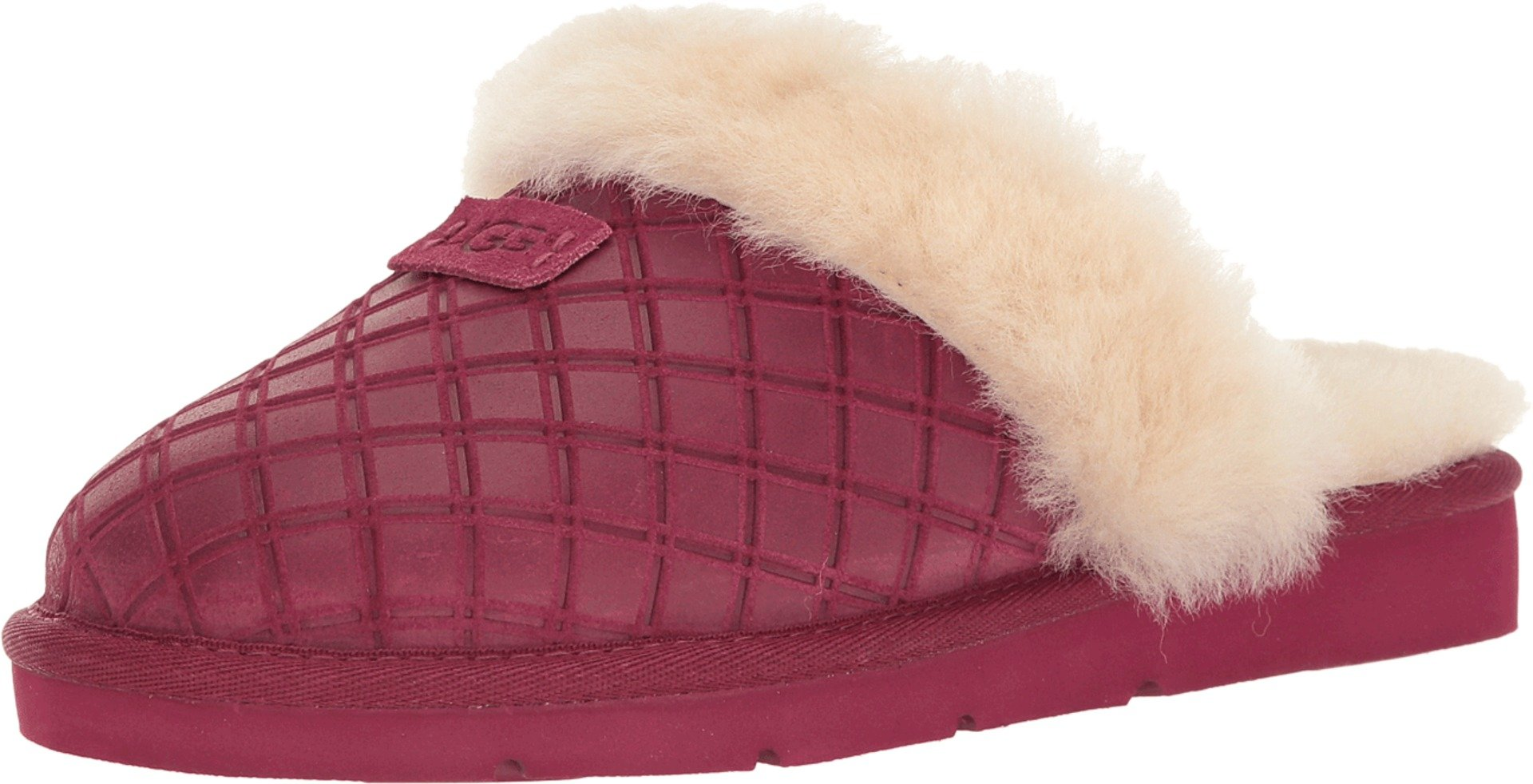 UGG Women's Cozy Double Diamond Holiday Gift Box Lonely Hearts Sandal