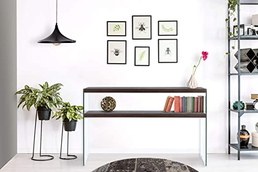 One Couture Mesa Consola Mesa de TV Estante Mesa de Tele Madera ...
