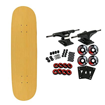 Moose BLANK COMPLETE Skateboard NATURAL 7 25 MINI Skateboards