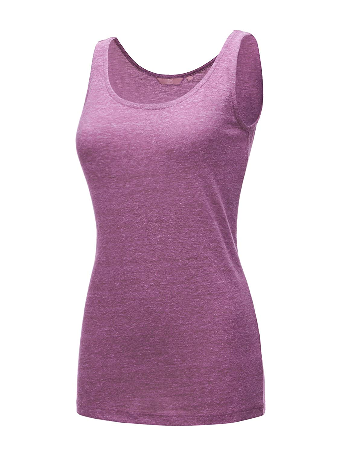 17507_purple Regna X [RESTOCK Activewear Running Workouts Clothes Yoga Racerback Tank Tops for Women