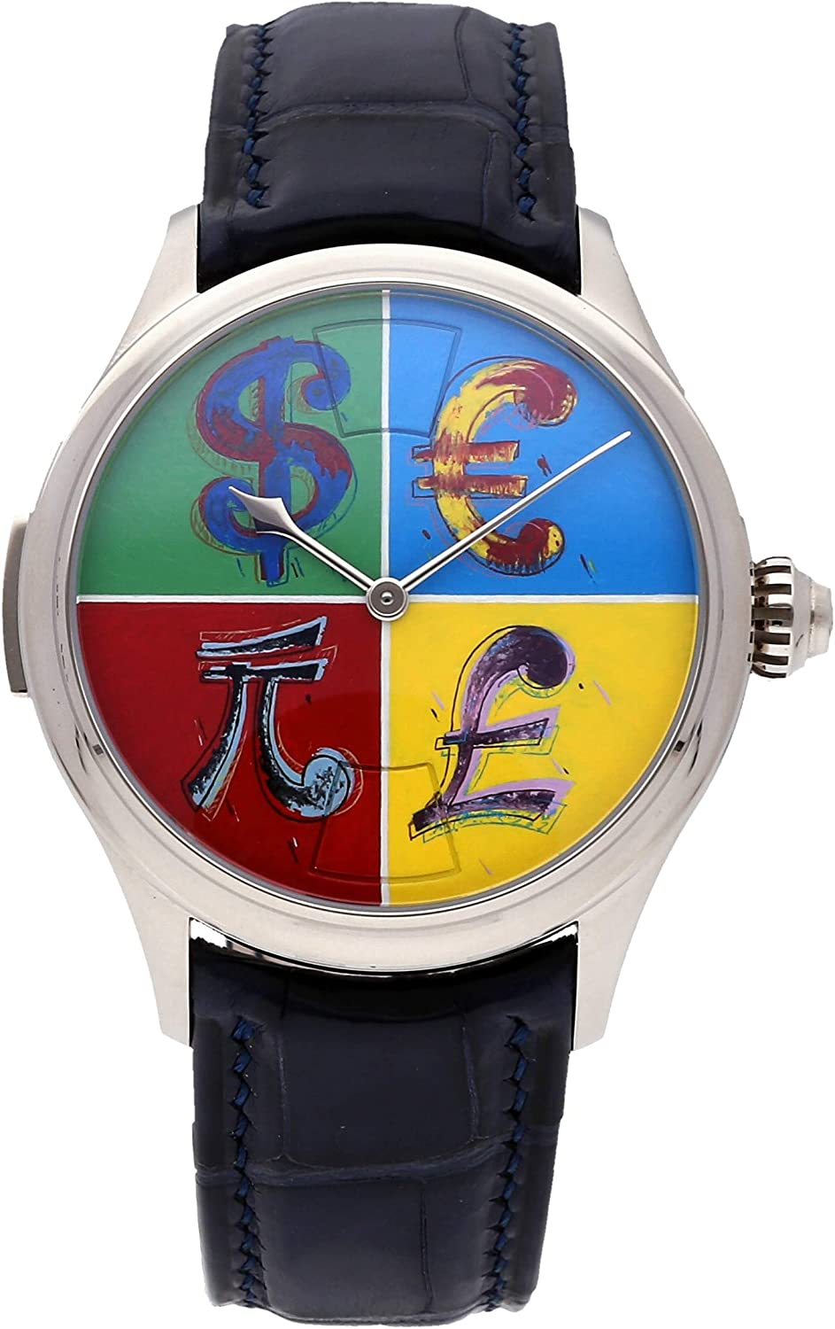 Maîtres du Temps Chapter Three Mechanical (Hand-Winding) Multi-Colored Dial Mens Watch C3R.00.00.800.99-C5 (Certified Pre-Owned)