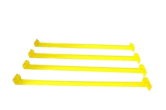 American/Western Mah Jong/Mah Jongg Pushers/Arms- Yellow set of 4