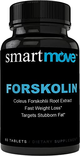 Highest Quality Forskolin Max Strength 500 MG for Weight Loss – Burn Belly Fat Boost Metabolism – Safe Effective – Dietary Supplement – for Men for Women – High Quality – Pure Forskolin Extract