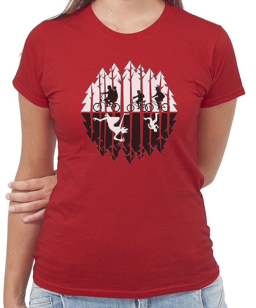 by New Indastria T-Shirt Stranger Things Bambini nel Bosco