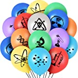 40 Pieces Science Party Balloons Latex Science Themed Balloons Latex Birthday Balloons for Holiday Celebrations Science…