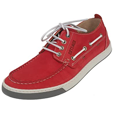 Basses Ou Cuir Rouge Korentin Chaussures SimiliAmazon Cotemer YDHWIE29
