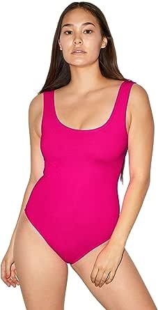 American Apparel Women's Forward Sleeveless Tank Bodysuit