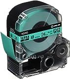 キングジム テープカートリッジ テプラPRO SC24G 24mm 緑