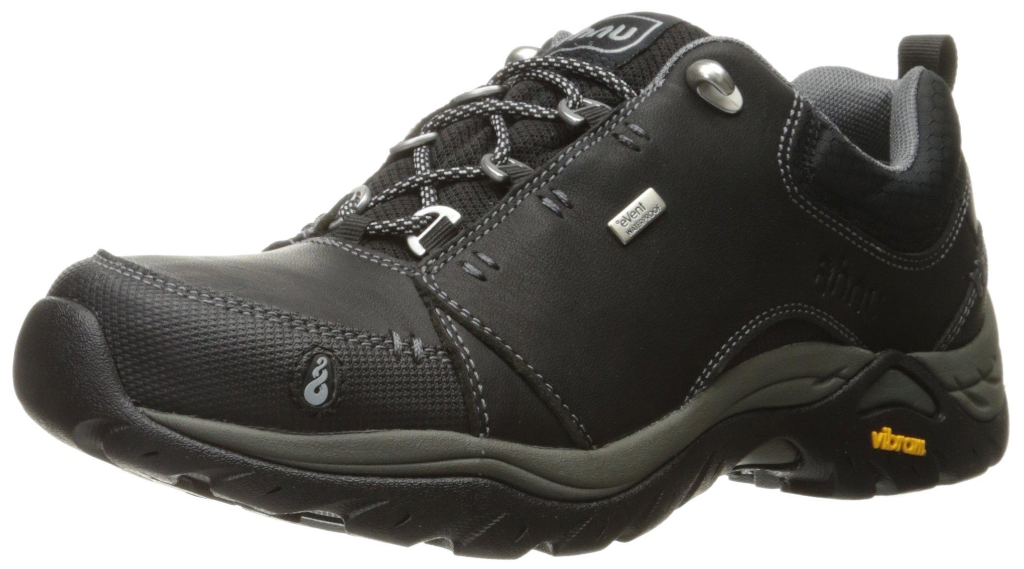 Ahnu Women's Montara II Waterproof Hiking Shoe, New Black, 8 M US