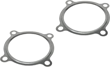 T3 Divided 4 Bolt CarXX Stainless Steel Divided Gasket for T3 Turbo Turbine Inlet PACK OF 2
