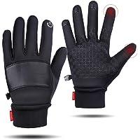 SkyGenius Winter Gloves, Bike Cycling Riding Gloves Motorcycles, Windproof Waterproof Slip-Proof Gloves Keep Warm in…