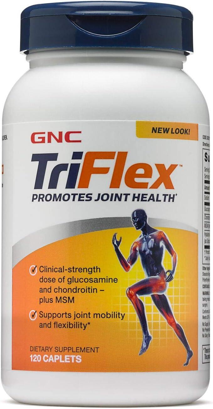 GNC TriFlex Supplement, 120 Tablets, Joi…