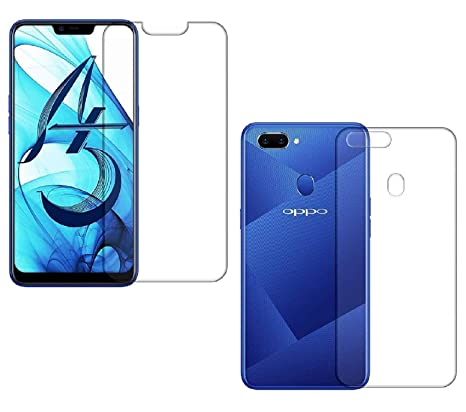 super popular 594c9 133f2 The Best Choice Oppo A5 Front & Back Hammer Glass: Amazon.in ...