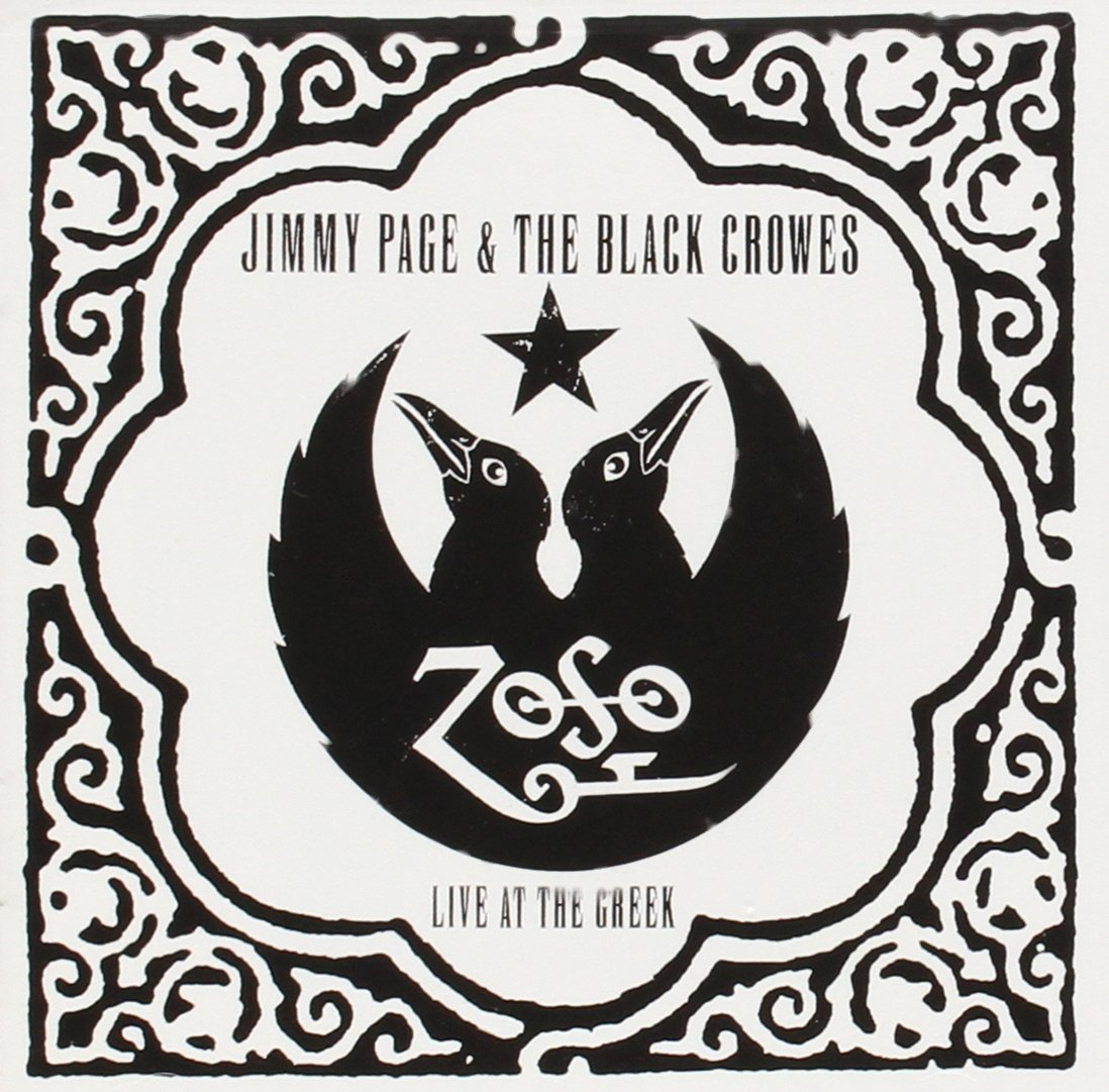 Live At The Greek by PAGE,JIMMY & BLACK CROWES