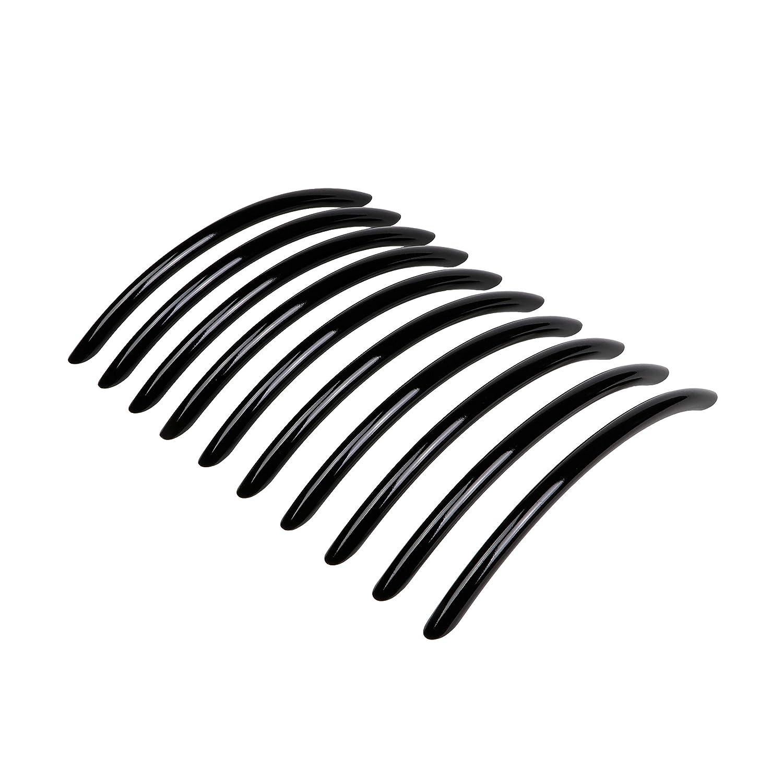 1 St/ück Bogengriff 128 mm Black is back Gedotec Design K/üchengriffe Vintage M/öbelgriffe schwarz Schrankgriffe LORA Schubladengriffe mit Schrauben Schubladengriff hochglanz schwarz poliert