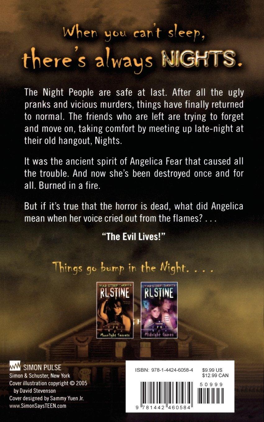 Darkest Dawn (Fear Street Nights): R.L. Stine, David Stevenson ...